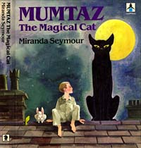 Andrew Brownfoot's cover illustration for Mumtaz the Magical Cat